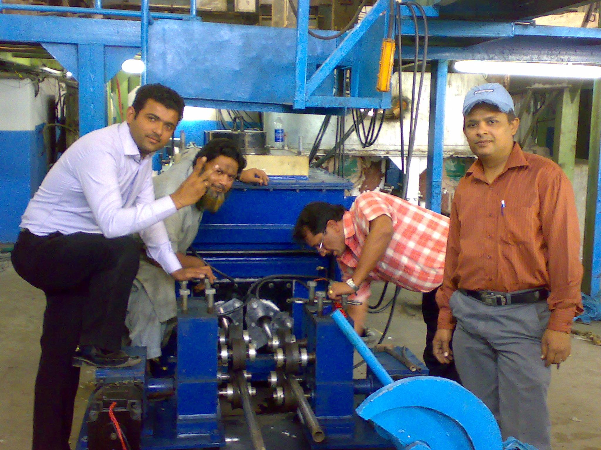Horizontal Tube Casting Machine